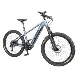 새로운 디자인 MID 드라이브 모터 전기 자전거 벨트 드라이브 가득 참 내부 케이블 배선 E-Bike Mountain Ebike