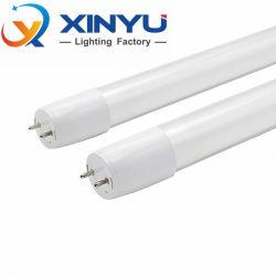 고품질 유리 노란색/냉백색 컬러 AC220V 9W 15W 18W 60cm/90cm/120cm 2ft, 3ft, 4ft T8 LED 튜브 라이트 램프 튜브 T8