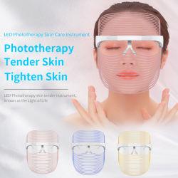 Remoção de vincos Rejuvenescimento da pele Beleza Anti-Aging fóton PDT levou a terapia da luz de Máscara