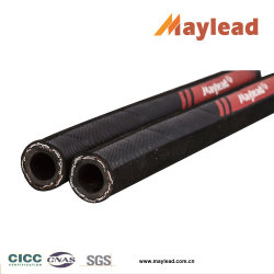 Alambre de acero de alta presión Braides la manguera de goma