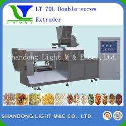 Extruder van de Schroef van de Machine van het Voedsel van snacks de Dubbele (LT70L)