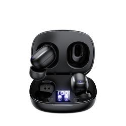 Kingmaster TL5 HD 무선 TWS 헤드폰 스테레오 Bluetooth 이어버드 지문 인식 인식 Bluetooth 헤드셋 TWS 마이크 게임 헤드셋