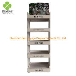 5 níveis de piso de madeira garrafa de água de Prateleira Exibir Bebidas Bebidas Rack Rack de armazenamento