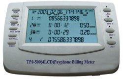Het facturerings Meter (CW201 (4LCD))