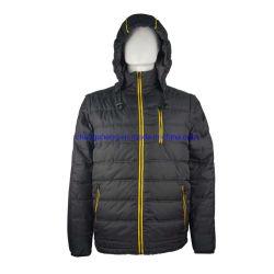 Design especial poliéster acolchoado leve acolchoado falso acolchoado acolchoado acolchoado para homem no inverno Blusão com enchimento