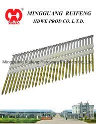 "Ruifeng 브랜드 21 Deg Framing Nails, 플라스틱 스트립 손톱, 3-1/4"" X. 120 나사 HDG, 플라스틱 스트립 손톱."