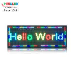 لوحة قارئ الرسائل الإلكترونية P10 رسالة LED قابلة للبرمجة لنقل الفوضى مؤشر LED علامة تمرير الصمام الثنائي الباعث للضوء P10 في الخارج