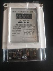120/220V 50A 60Hz monofásico 3 Medidor de energia estática de fio duplo ecrã LED comunicação Modbus