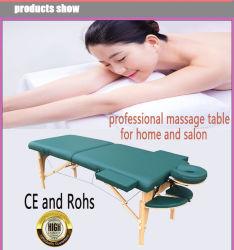 Nieuwe houten Massage tafel Beauty Bed Gezichtsbed Salonmeubilair