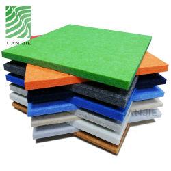 Gaststätte-Polyester-Faser-leichter schalldichter Ton saugen 9mm auf, die 100% Haustier-akustisches Panel aufbereiten
