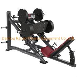 معدات اللياقة البدنية المهنية تعزز عضلات الساق 45 درجة تمارين الضغط على الساق ماكينة مزودة بلوح مُحمَّلة لصالة الألعاب الرياضية من خلال الحصول على شهادة ISO9001