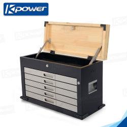 고급 휴대용 알루미늄 외관 메이크업 뷰티 도구 상자