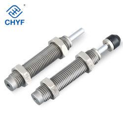 Cilindro de Ar pneumática Msq Msqb Cy1s Amortecedor Rb/Rbc0604/0805/0806/1006/1007/1411/1412/S Buffers de tipo SMC com Porca