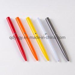 Stylo à bille de couleur unie pour de fournitures de bureau