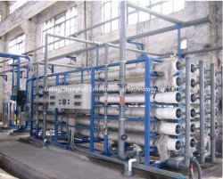 2-3-5 Reserva personalizada etapa Osmosis RO membrana de la planta de desalinización de agua de mar Watertreatment