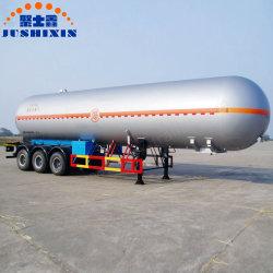 3 осей СПГ СИСТЕМЫ ПИТАНИЯ СЖИЖЕННЫМ ГАЗОМ CO2 бака Полуприцепе/ криогенной жидкостью танкер /прицепа газового баллона системы питания сжиженным газом танкер