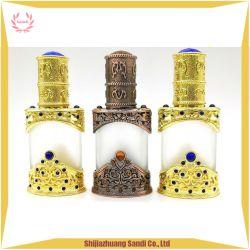 Antiqued 포도 수확 합금 기술 선물 도매 12ml 정유 금속 병