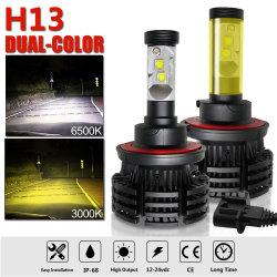 Werkseitig neue CREE 9000lm X4 ohne Lüfter H4 H11 H13 H7 Auto-LED-Scheinwerfer Umrüst-Kits