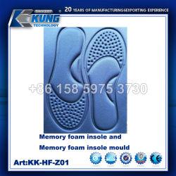 スポーツの靴のための高品質のメモリ泡靴の中敷/型