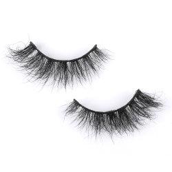 أفضل جودة 100% 3D Mink بالجملة الرماد الذي يغسل العين مقاومة للماء رماد عين كاذب