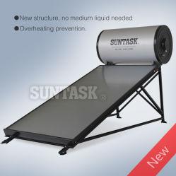 Плоская пластина солнечный водонагреватель для защиты от перегрева