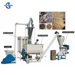 1.5-2 Prezzo animale della macchina della pallina dell'alimentazione di pollo del bestiame di uso del pollame dell'azienda agricola di Ton/H da vendere