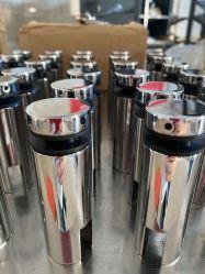 Edelstahl-Distanzhülsen-Stifte/Glasanker/seitliche Glasstifte, Vierecks-Stab-Halter, Glasadapter, seitlicher Pin