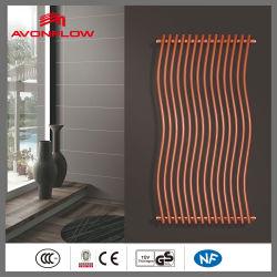 Diseñador Avonflow tubo curvo toalla radiadores para sala