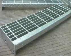 강철 플래트홈 사다리를 위한 직류 전기를 통한 강철 삐걱거리는 단계