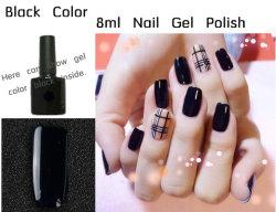 L'usine OEM 8ml sous étiquette privée de soins des ongles en gel d'ongles en polonais