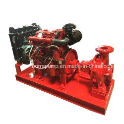 Конец линии всасывания дизельного двигателя автоматического пожаротушения водяной насос