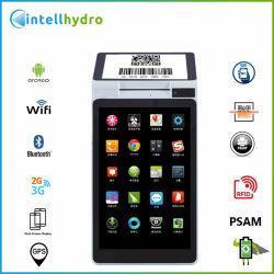 USD139/PC Android 3G GSM GPRS Dual-Screen Wi-Fi NFC Impresora Térmica de escáner de códigos de barras terminales POS inteligente