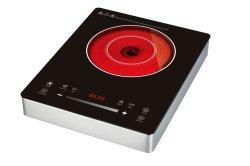 EMF van het ceran2000W CITIZENS BAND van Schott infrarode ceramische kooktoestel het Certificatie van het Roestvrij staal