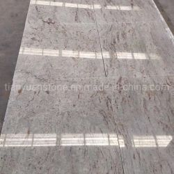 安い磨かれたインド新しいカシミールの白い花こう岩の壁の床タイル