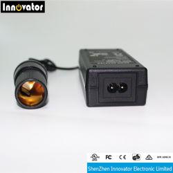 DC12V 5A 60W Auto-Aufladeeinheits-Energien-Adapter mit Cer UL bescheinigt Soem-schwarzen Gehäuse Gleichstrom-Verbinder