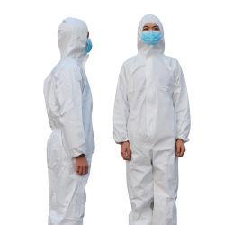 의학 제복 병원 처분할 수 있는 작업복을 입는 세륨 FDA 외과 안전은 개인적인 방어 의복을 제거한다