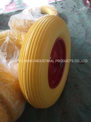 Espuma de poliuretano ruedas para carretilla Stel Rim con rodamientos de bolas