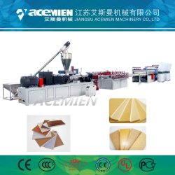 機械PVCテーブルクロスシートの放出機械を作るPVC皮の泡のボード