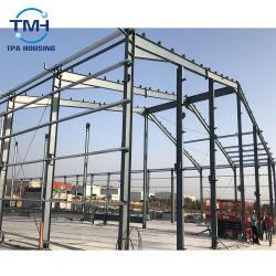 La conception de bâtiments préfabriqués à faible coût de la structure en acier pour l'entrepôt de stockage