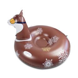 Надувные зимой новый дизайн Husky собака Snowtube игрушки