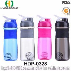 Piscina 800ml Tritan populares agitador de proteínas garrafa com o manípulo (HDP-0328)