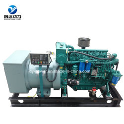 Weichai 120kw embarcación grupo electrógeno diesel marino