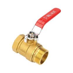HB-5093 Commercio all'ingrosso valvola a sfera in ottone Pn25 valvola acqua in ottone Cw617 Valvola in ottone per tubazioni