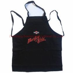 مصنع [أم] عالة تصميم طبق قطر مطبخ يطبخ [بيب] مئزر أسود