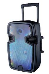 15pouces chariot Rechargeable Bluetooth haut-parleur avec grandir la lumière colorée