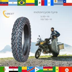 A correia em nylon OEM de qualidade super pneu diagonal da Borracha Natural Padrão de lama de neve tubo moto /Pneu (3.00-17 pneus 3.00-18 4.10-18)