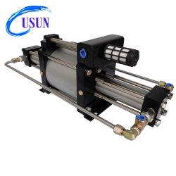 Modelo Usun: Gbd25 100-200 Bar azoto de Dupla Ação/CO2/Hélio /hidrogénio gasoso Booster de Pressão