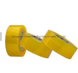 Четкий и прозрачный желтоватый заводская цена BOPP упаковочную ленту BOPP клейкой ленты OPP ленту для уплотнения коробки