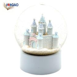 Navidad San Valentín fiesta de cumpleaños regalos de Año Nuevo Castillo de Agua de la resina Bola de Nieve
