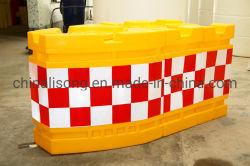 Barillet d'avertissement de sécurité routière / Plastique anti réfléchissant Bump Baril / accident de circulation pour la sécurité routière du fourreau